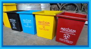 Hospital Dust bins